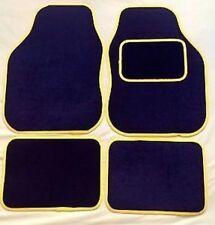 SEAT IBIZA (99-02) YELLOW TRIM EDGE CAR FLOOR MAT SET