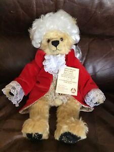 Hermann Amadeus Mozart Mohair Music Bear Limited American Edition 130/500 Tags