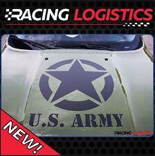 Big Hood Star US Army Sticker 4x4 JEEP Renegade Wrangler Willys Military RAM