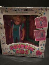 Vintage Doll - Bouncin' Kids Tumblin' Kid NIB Galoob 1989