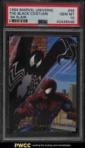 1994 Flair Marvel Universe The Black Costume #48 PSA 10 GEM MINT