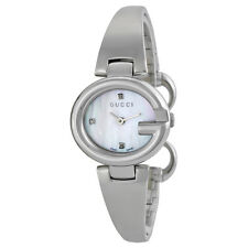 Gucci Guccissima Stainless Steel Ladies Watch YA134504