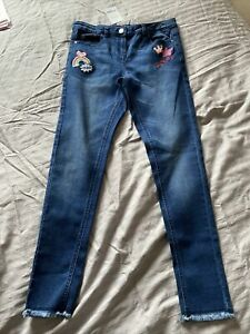 Next Girls Jeans Size 11 Years