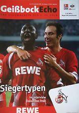 Programm 2009/10 1. FC Köln - Bayer Leverkusen