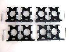4x  Multifeed Halter 2-fach Halterung Kunststoff für Sat 2 LNB Astra Hotbird