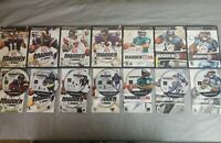 Lot of 7 Madden PlayStation 2 PS2 Football Games 2002-2008 Complete CIB w/Manual