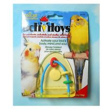 Leap Frog Toy by JW Pet Activitoy for Small Birds Budgies Cockatiels Ringnecks
