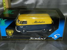 RARE Solido Diecast VW Combi Bus Michelin Tire 1:18 Scale NRFB Unopened Box