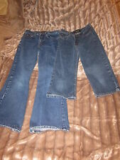 2 Pairs of L.E.I. jeans girls size 14