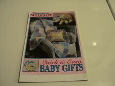 Quick and Easy Baby Gifts by Needlecraft-Crochet, Plastic Canvas, Cross Stitch