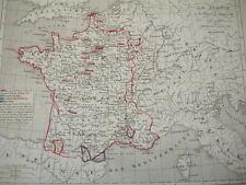 LA FRANCE à la mort de Henri III 1547 à 1589