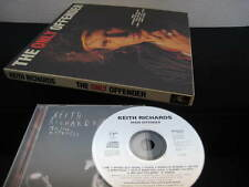 Keith Richards Main Offender UK CD in Box with T Shirts Poster Rolling Stones