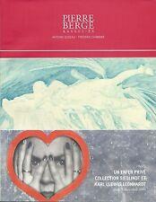 PIERRE BERGE Paris Erotica Erotic Art Leonhardt Collection Auction Catalog 2006