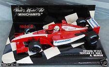 Toyota TF101, Testcar F1 2001, A.McNish, 1/43, wie neu