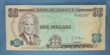 Jamaica 1970 - 5 Dollars - P-56 - Estimated Grade VF-EF