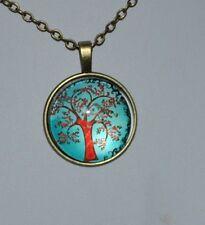 Árbol de la Vida collar Colgante Vintage Bronce/Ideal Regalos para ella las madres niñas