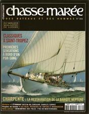 CHASSE MAREE N° 184 : PECHE A LA TORTUE - VOILES SAINT-TROPEZ - CHARLES CORNIC