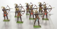 BM83 military lead Britains loose set 202 Togoland Warriors. 1930s version VGC