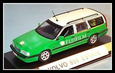 "wonderful unique modelcar VOLVO 850 WAGON ""FUJIFILM"" 1996 - green/white - 1/43"
