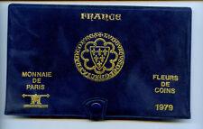 FRANCE COFFRET FDC FLEUR DE COIN MONNAIE DE PARIS 1979