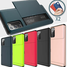 For Samsung Galaxy Note 20/20 Ultra 5G Wallet Fit Otterbox Shockproof Case Cover