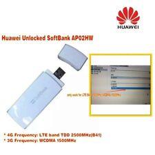 Huawei softbank AP02HW 4G LTE FDD B41 2500Mhz 3G WCDMA 1500Mhz