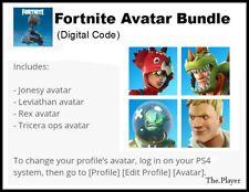Fortnite Avatar Bundle Digital Code PS4 (NA Region)