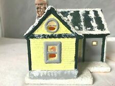 Christmas Village Lighted House