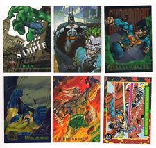 1995  SKYBOX BATMAN MASTER SERIES  PROMO / SAMPLE CARD