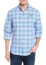 Vineyard Vines Men Size M Harbor Salt Island Creek Classic Fit Shirt Bimini Blue