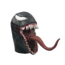 The Venom Spiderman Mask Cosplay Edward Brock Superhero Venom Latex Masks Helm X