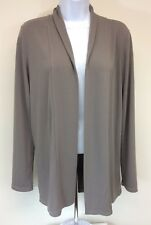 Women's Ann Taylor Taupe Sweater Long Sleeve Open Front Size S