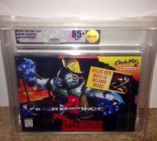Killer Instinct VGA 85+ GOLD! SEALED MINT V-SEAM! Super Nintendo RARE SNES