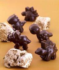 Dino Silicone Chocolate Mould dinosaur ice cube tray craft Fun bake cake UK