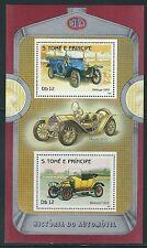 S.Tome & Principe - Cars on MNH Souvenir Sheet ....M2.......#6O20-83