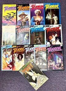 Lot (14) TALES OF TERROR #1-13 ECLIPSE COMICS (1985) COMPLETE RUN Bruce Jones