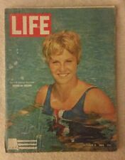 LIFE Magazine October 9, 1964; US Olympic Swimmer Donna de Varona - RARE FIND!!