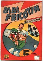 BIBI FRICOTIN  AS DU VOLANT.  Album n°49.. LACROIX. SPE 1960. EO en bel état