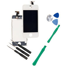 White Super Parts LCD Touch Assembly Digitizer for iPhone 4 AT&T A1332 + Tools