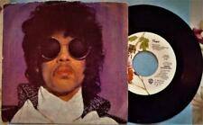 """Prince 'when doves cry' vinyl 7"""" 45 W/Picture Sleeve Vg+"""