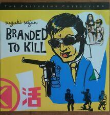 Branded to Kill Laserdisc CRITERION COLLECTION Suzuki Seijun LASER DISC