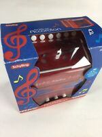 Schylling The Little Red Accordian Child's Squeeze Box Musical Instrument Toy