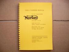 Norton Workshop Manual for Jubilee Navigator Electra 88 99 650ss 750 Atlas-g15