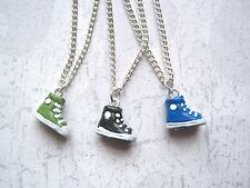 HIGHTOP TRAINER BOOT SP Charm Necklace Peruvian 3D Blue Green Black Converse