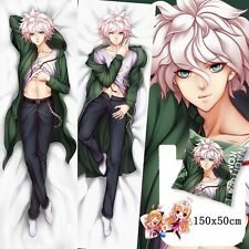 "Danganronpa2 Komaeda Nagito Anime Dakimakura Hugging Body PillowCase 59"" SM86"