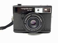 VOIGTLANDER VF101 35mm CAMERA with 40mm F2.8 COLOR SKOPAR LENS Parts Or Restore