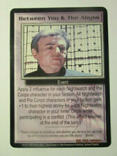 1999 Babylon 5 Ccg - Severed Dreams - Rare Card - Between You & The Abyss