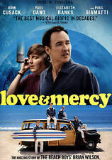 Love & Mercy - John Cusack, Elizabeth Banks, Paul Dano - DVD - Beach Boys