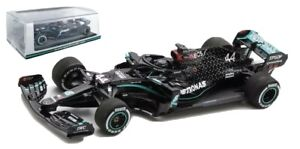 SPARK LEWIS HAMILTON MERCEDES AMG F1 W11 1/43 SCALE WINNER BRITISH GP 2020