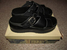 Vintage 90's Bass Paige Women's Platform Funky Chunky Sandals Size 10 with Box